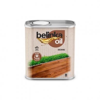 Alyva medinėms terasoms OIL DECKING - Spalva 204