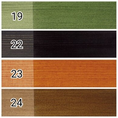 Dažyvė medienai TOPLASUR UV PLUS spalva Nr.24 3