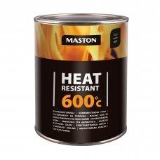Karščiui atsparūs MASTON dažai 600°С, Juoda