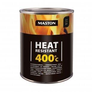Karščiui atsparūs MASTON dažai 400°С, Juoda