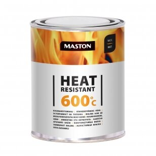 Karščiui atsparūs MASTON dažai 600°С, Balta