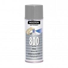 Aerozoliniai dažai MASTON 100, Pilka 800, RAL7040