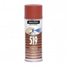 Aerozoliniai dažai MASTON 100, Gruntas raudonas 519
