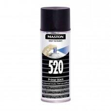 Aerozoliniai dažai MASTON 100, Gruntas juodas 520