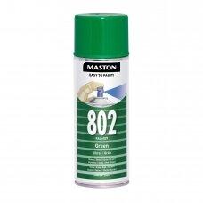 Aerozoliniai dažai MASTON 100, Žalia 802, RAL6029