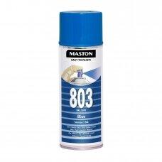 Aerozoliniai dažai MASTON 100, Mėlyna 803, RAL5010