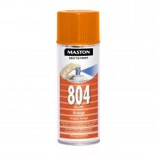 Aerozoliniai dažai MASTON 100, Oranžinė 804, RAL2004