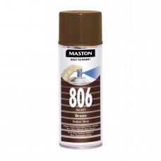 Aerozoliniai dažai MASTON 100, Ruda 806, RAL8017