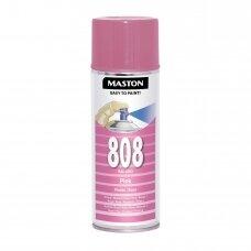 Aerozoliniai dažai MASTON 100, Rožinė 808, RAL4003