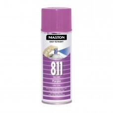 Aerozoliniai dažai MASTON 100, Violetinė 811, RAL4008