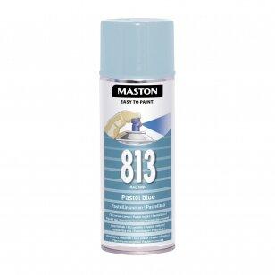 Aerozoliai dažai MASTON 100, Pastelinė mėlyna 813, RAL5024