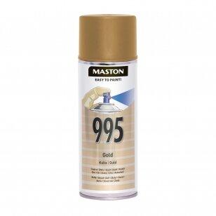 Aerozoliniai dažai MASTON 100, Auksinė 995